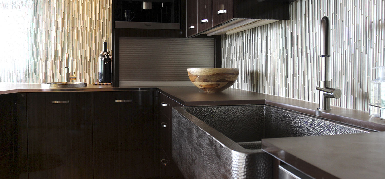 Modern Kitchen Remodel Residential Construction Omaha