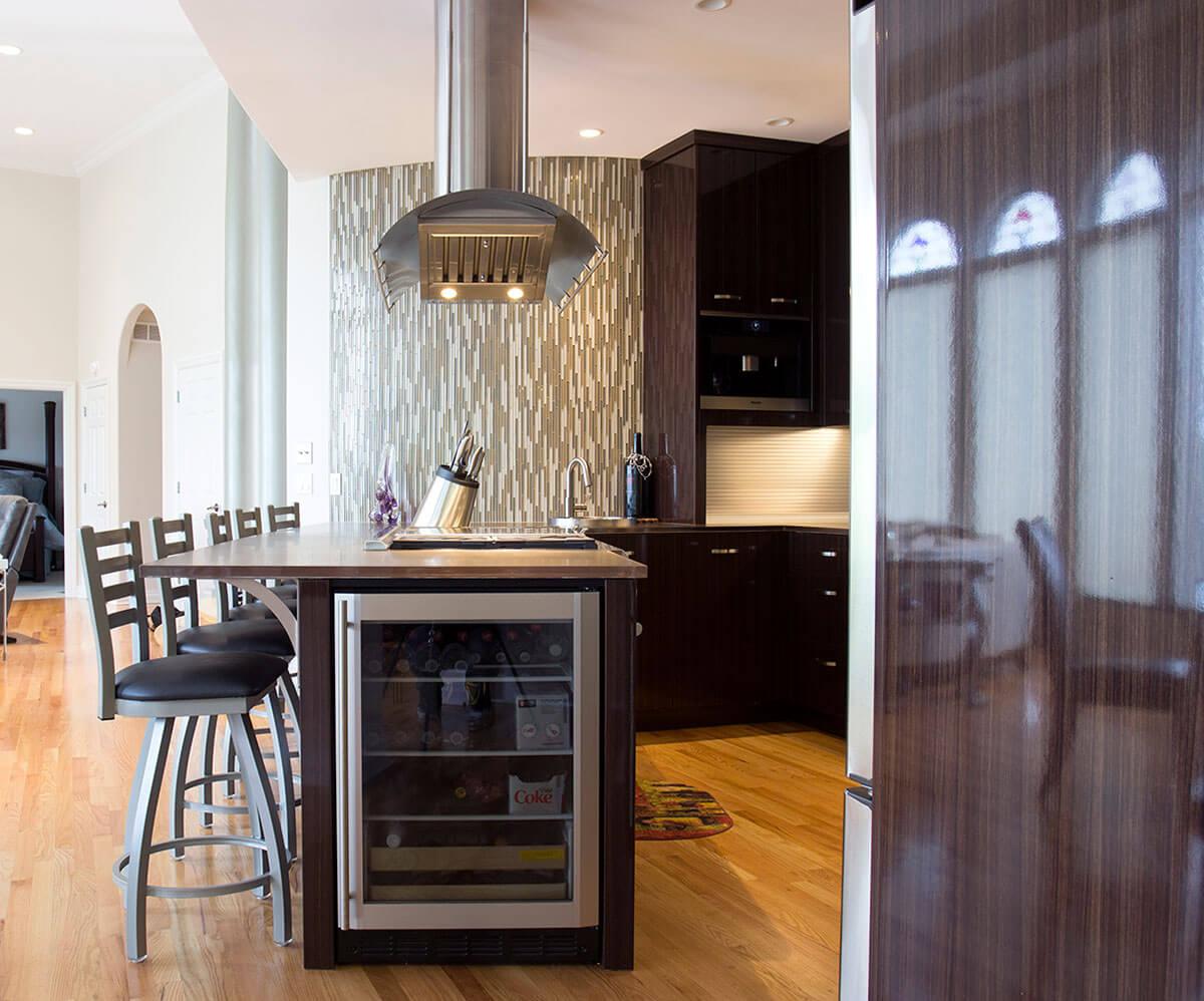 Superb Modern Kitchen Remodel Residential Construction Omaha