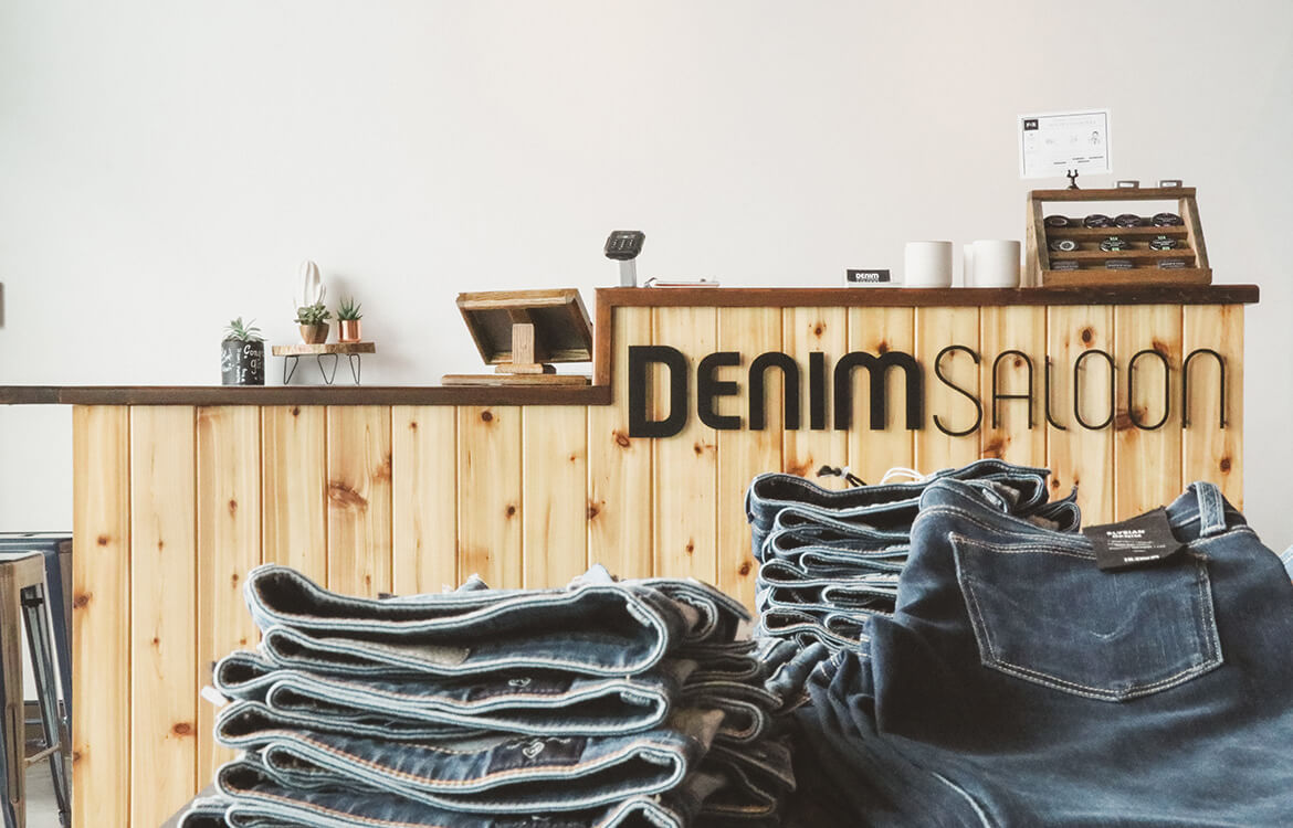 Denim Saloon Retail Commercial Build
